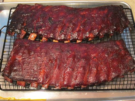authentic bbq ribs   slow  steps