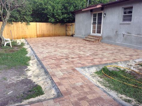 patio pavers for brick pavers brandon florida driveway pavers great price