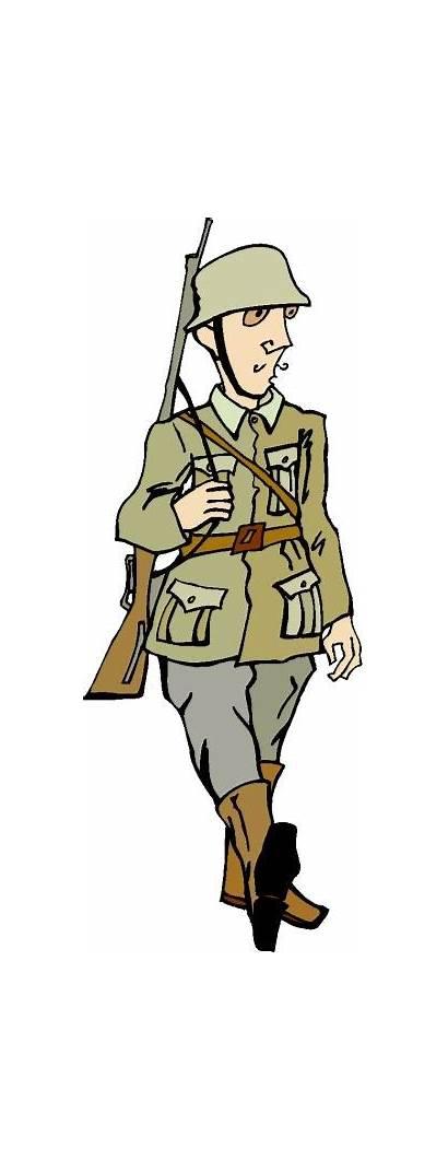 War Clip Clipart Soldier Warfare Wwi Activities