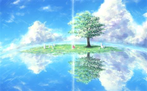 Anime Wallpaper Backgrounds - anime nature wallpaper 77 images