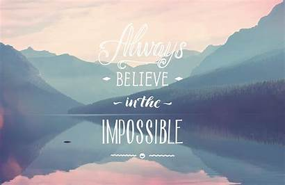 Inspirational Quote Wall Quotes Impossible Mural Desktop