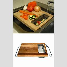 Sink Cutting Board  Dream Home  Pinterest  Cuttings
