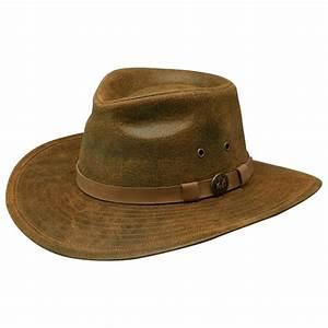 Men's Outback Trading Company® Leather Kodiak Hat - 185861 ...