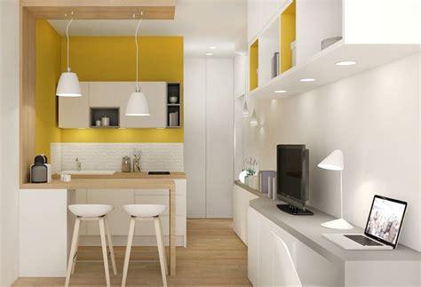 amenagement cuisine studio surface aménagement studio rénovation décoration agence d 39 architecture