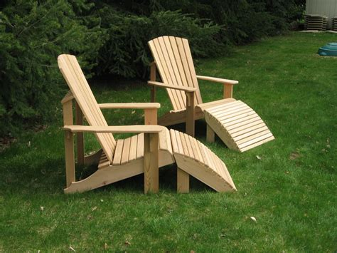 adirondack chair and ottoman pdf adirondack chair ottoman plans plans free