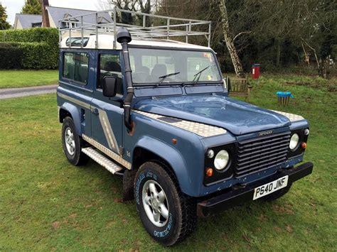 old land rover defender for sale 1996 land rover defender 90 for sale classic cars for