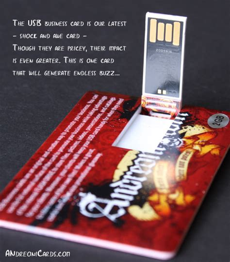 usb business cards