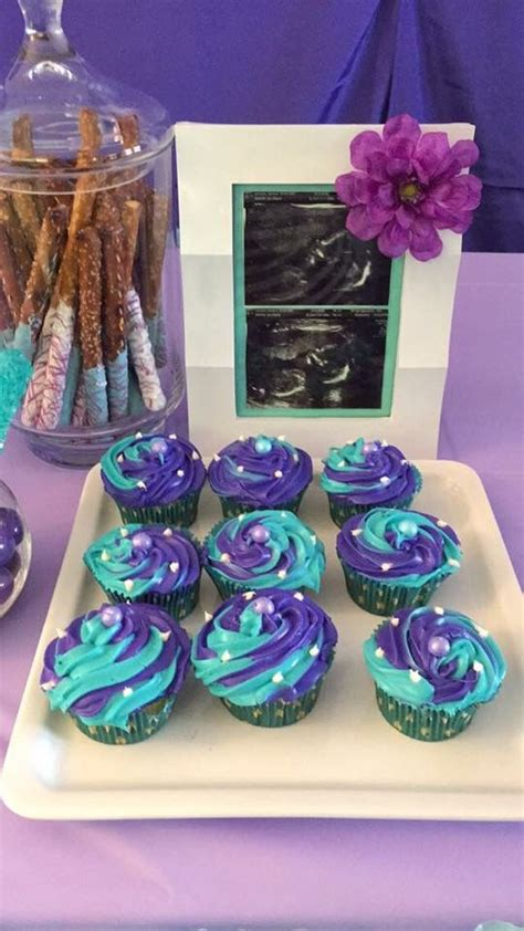 Purple And Teal Baby Shower Decorations by Teal Purple Baby Shower Baby Shower Simple Diy