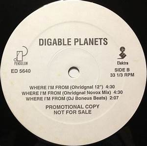DIGABLE PLANETS / WHERE I'M FROM