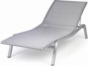 Chaise Longue De Jardin Aliz Fermob Bain De Soleil En