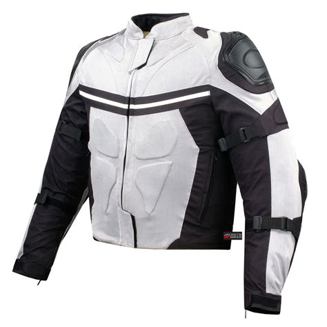 gear motorcycle jacket mesh motorcycle jacket street riding rain waterproof white