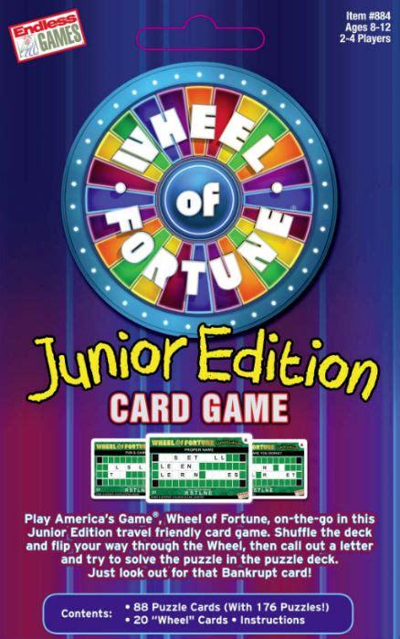 fortune wheel game card junior edition games box web