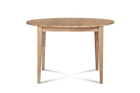 but table ronde table extensible ronde plateau 105 cm pieds fuseau hellin
