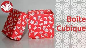 Fabriquer Une Boite En Carton Avec Couvercle : origami bo te cubique cubic box senbazuru tutoriel en tout genre ~ Melissatoandfro.com Idées de Décoration