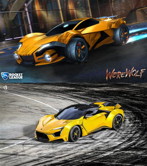 Sport Vs Supersport by Vs W Motors Fenyr Supersport Rocketleague
