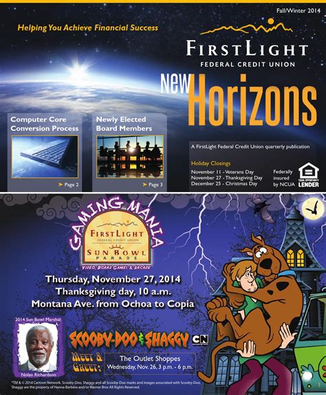Light Commerce Credit Union by Firstlight Federal Credit Union 2014 Newsletter By