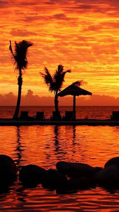 Sunset Fiji Wallpapers Island Fijian Lg Mobile