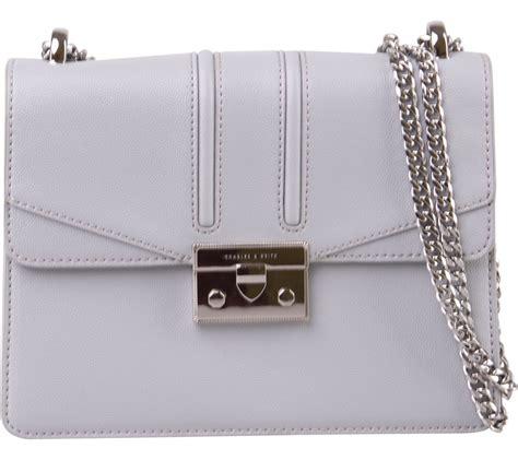 Sling Bag Charles Keith charles keith grey sling bag