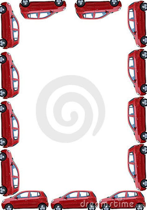 border  isolated cars royalty  stock