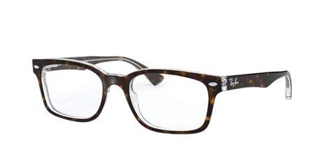 rx shop ray ban tortoise square eyeglasses