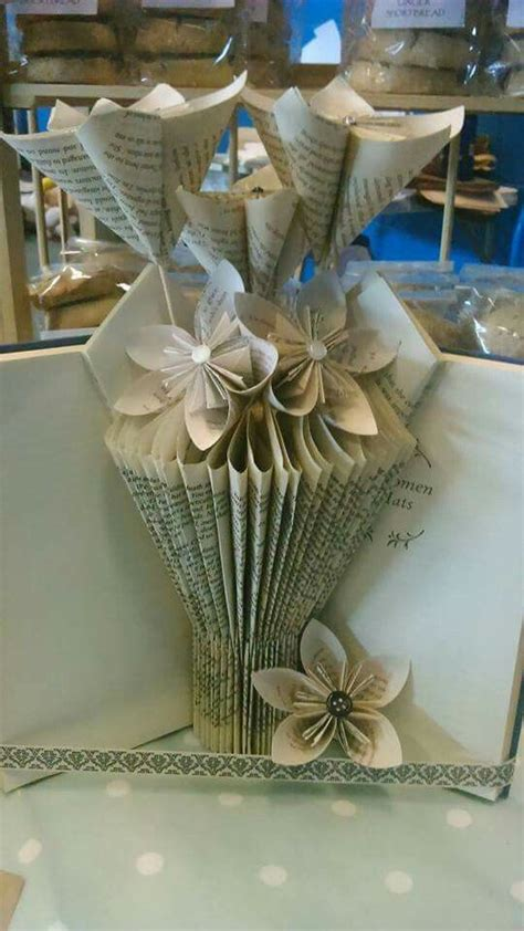 book folding paper vase camp book sculpture projects