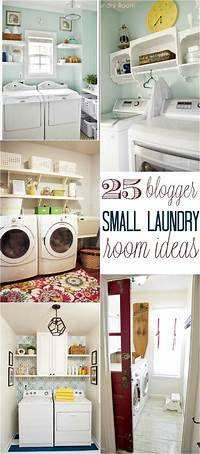 small laundry room ideas 25 Small Laundry Room Ideas