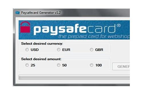 Paysafecard Code Generator 2018 Download - Wallpaperzen org