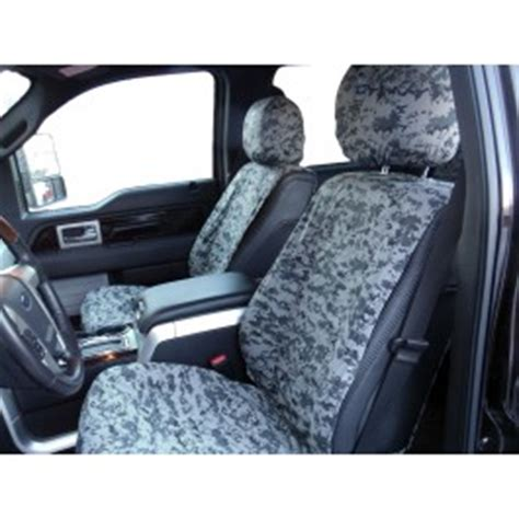 seat savers  covercraft front winter camo