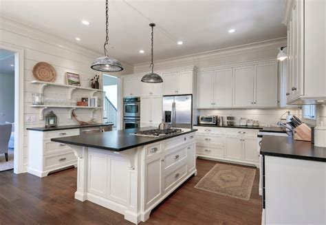 beach house kitchen cabinets classy cottage beach style kitchen charleston by