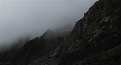 Fog Landscape Cloud Gifs Bridge Gate Golden
