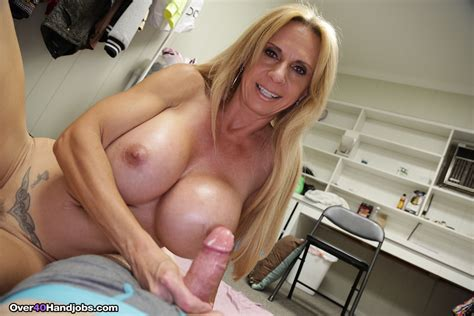 Big Breasted Brooke Tyler Tugs Her Step Sons Hard Knob