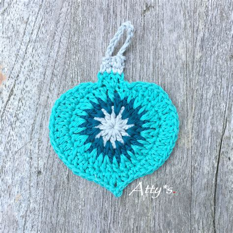 atty s crochet for christmas vintage ornament