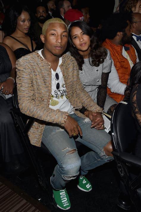 Pharrell Williams and Helen Lasichanh Pictures   POPSUGAR ...