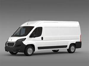 Van Peugeot : peugeot boxer van l3h2 2014 3d model max obj 3ds fbx c4d ~ Melissatoandfro.com Idées de Décoration