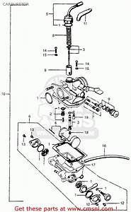 35 Honda Trail 90 Carburetor Diagram