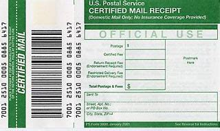 track a certified letter if you send certified mail you re an 8991