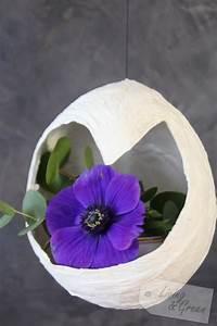 Kleine Weiße Vasen : schwebende vasen papier diy living green ~ Michelbontemps.com Haus und Dekorationen
