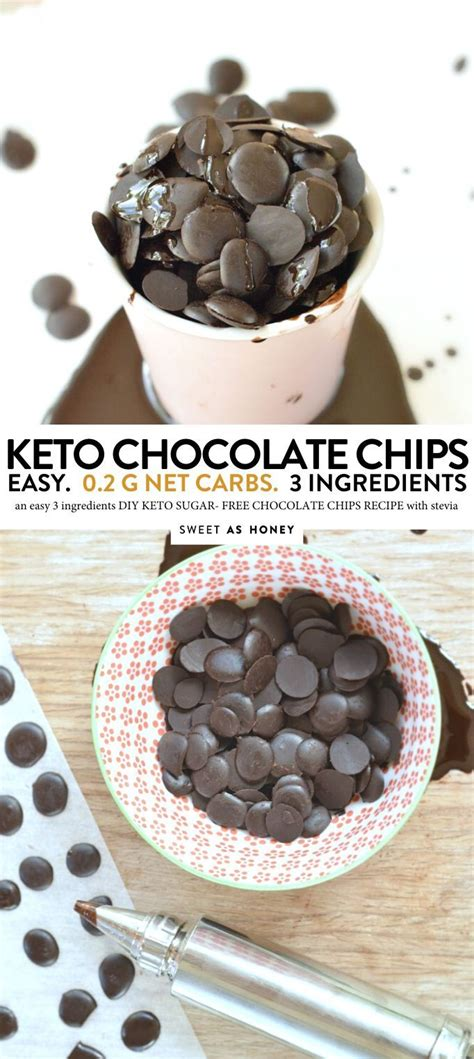 This keto hot cocoa recipe is the most amazing hot chocolate recipe you will ever have! KETO CHOCOLATE CHIPS with cocoa powder #3ingredients #keto ...