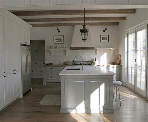 plaster kitchen hood  wood trim design ideas