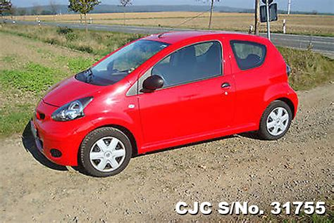2009 Left Hand Toyota Aygo Red For Sale  Stock No 31755