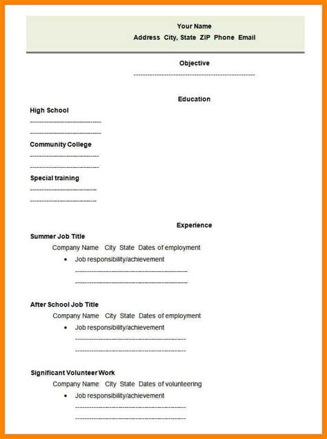 Dialysis Technician Resume Pdf by 9 Blank Resume Form Dialysis 6 Blank Resume Template Pdf Dialysis