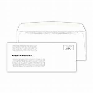 double window envelope template - double window confidential check envelope designsnprint