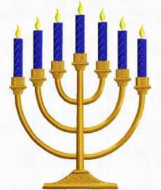 hanukah candles menorah