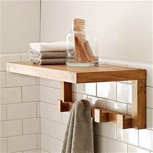 Elegant Bathroom Shelf Design Ideas