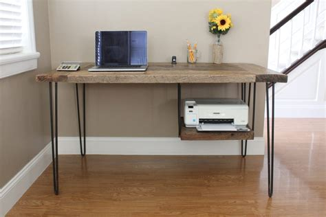 office  eco friendly   reclaimed wood desk