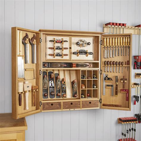 Wooden Tool Storage Cabinet Plans by Heirloom Tool Cabinet Plan From Wood Magazine