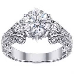 antique style engagement rings vintage style engagement ring from mdc diamonds