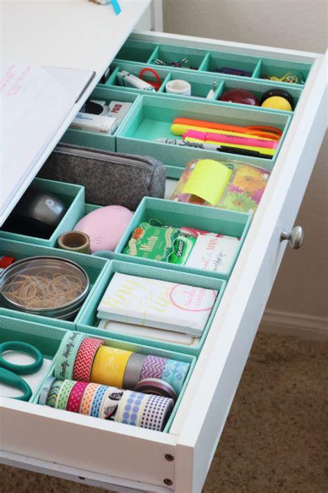 rangement du bureau 17 idées à copier pour organiser et ranger vos tiroirs
