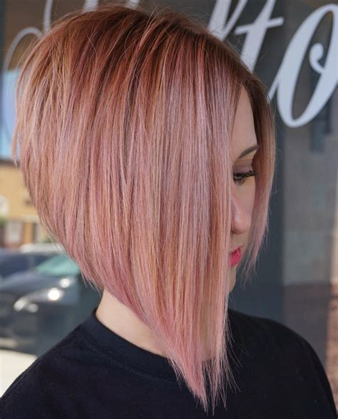 flattering short straight hairstyles