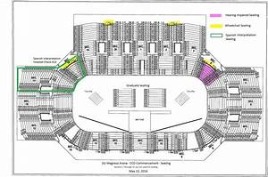 Reed Arena Seating Chart Commencement Magness Seating Diagram May2016 Jpg